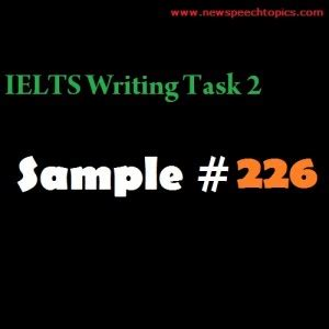 IELTS Writing Task 2 Sample Answers - 9 Band Preparation
